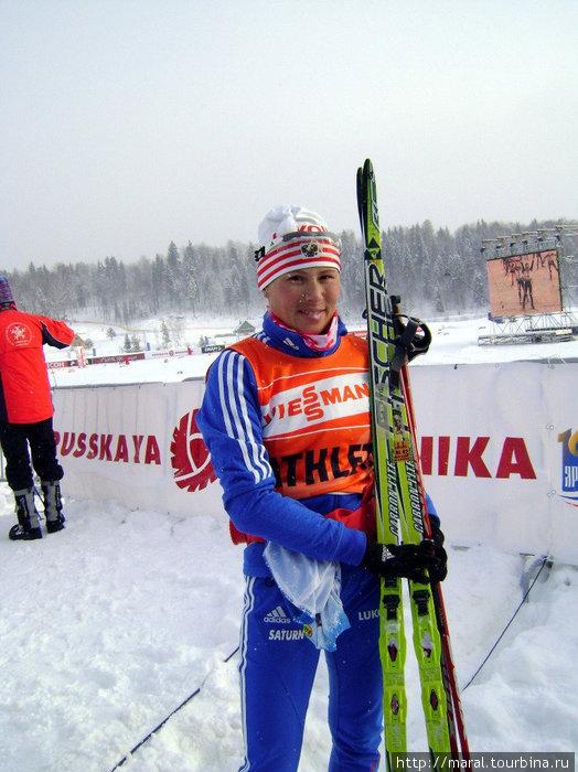 Здесь считают за честь выступать знаменитости, такие как олимпийская чемпионка Юлия Чепалова