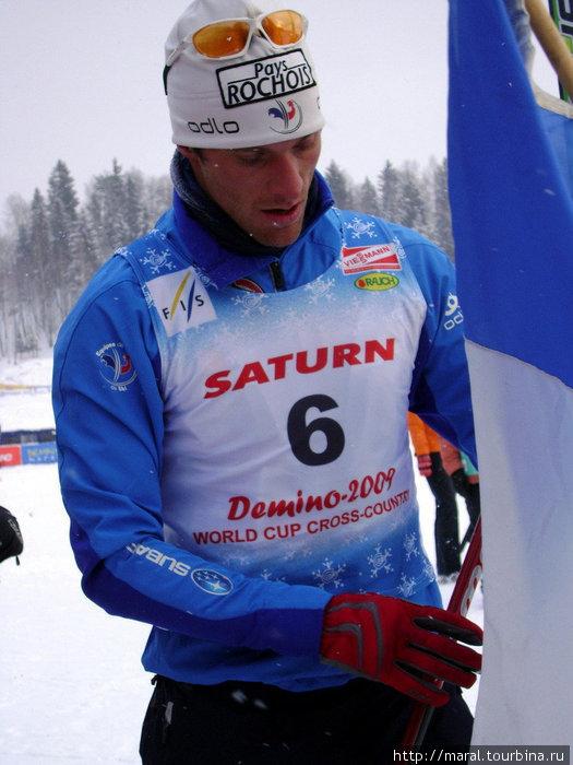 И титулованный французский лыжник Жак Марк Галлард