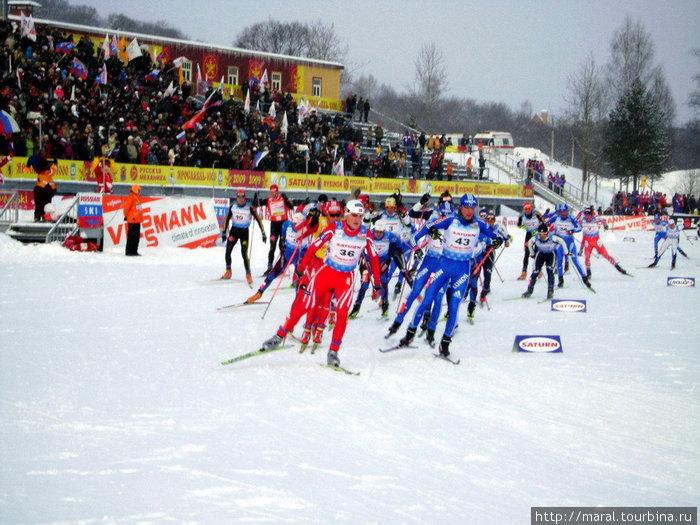 Здесь на снежных трассах куются спортивные победы