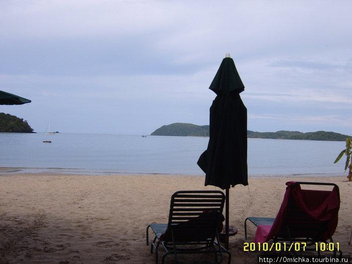 Пляж отеля Ланай (лангкави)