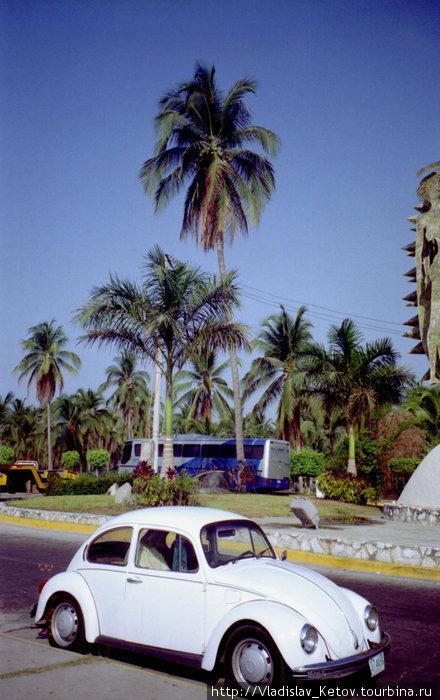 Самый популярный в Мексике автомобиль — Фольксваген Жук