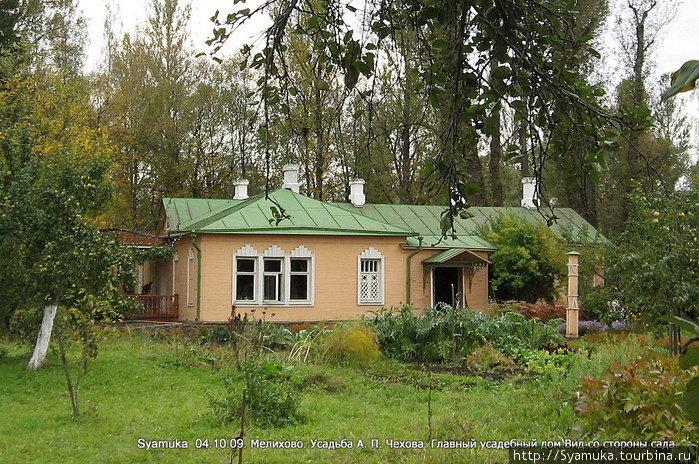 Главный усадебный дом А. П. Чехова.