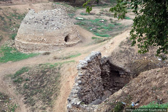 Все, что осталось от крепости в Хаме