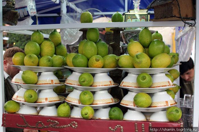 Дамасское лакомство — вареные бобы с лимоном