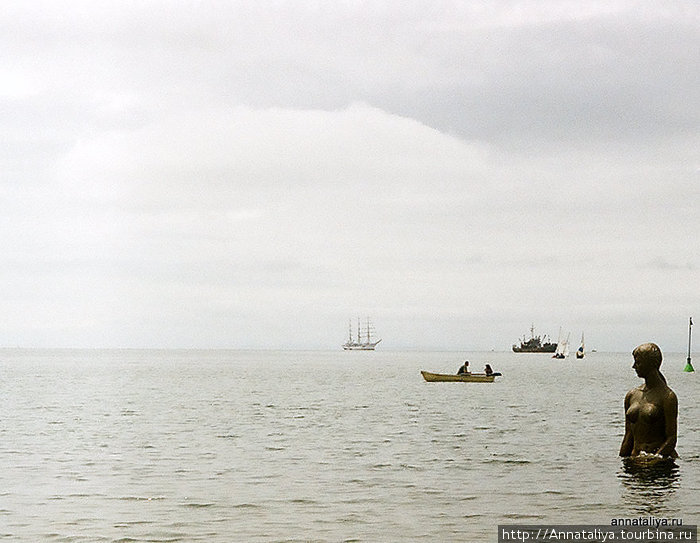Русалка в Японском море