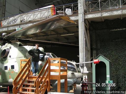 Вертолёт Ми-24 в натуральную величину