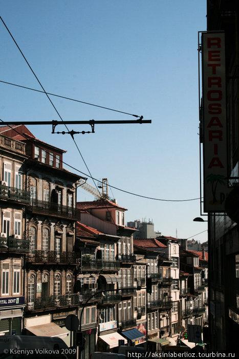 обычная улочка в Порту