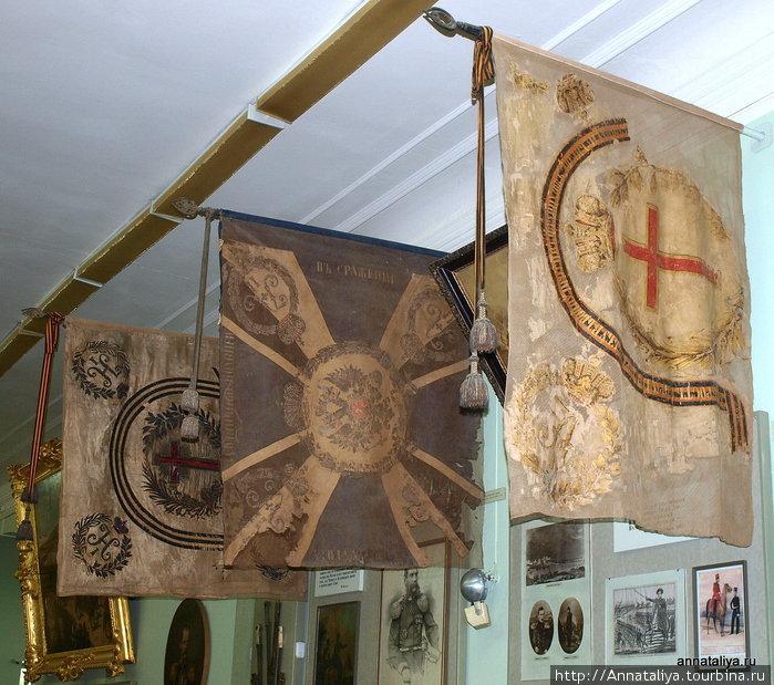 Знамена, жалованные казакам российскими императорами