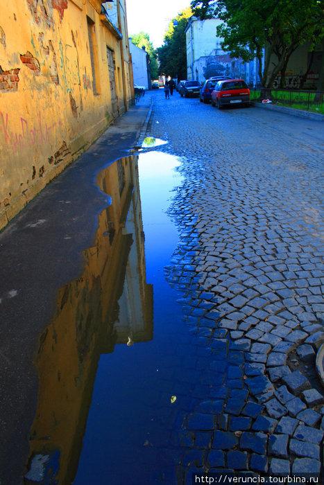 Мостовая ул. Репина.