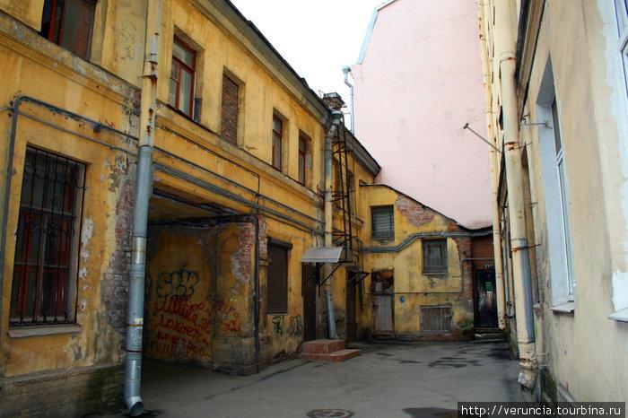 Неровные домики Васьки.