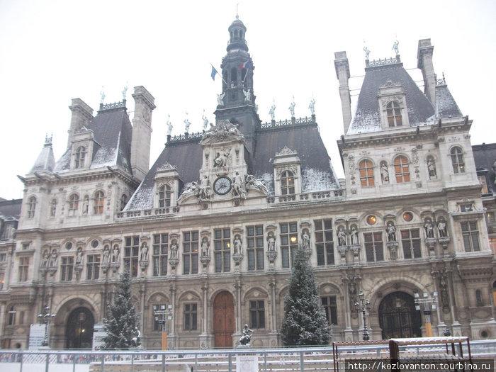 Мэрия Парижа.