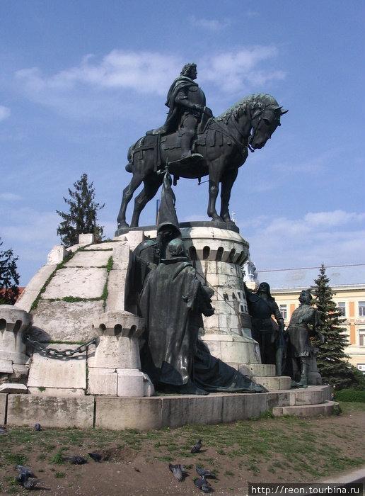 Памятник Матиашу Корвину