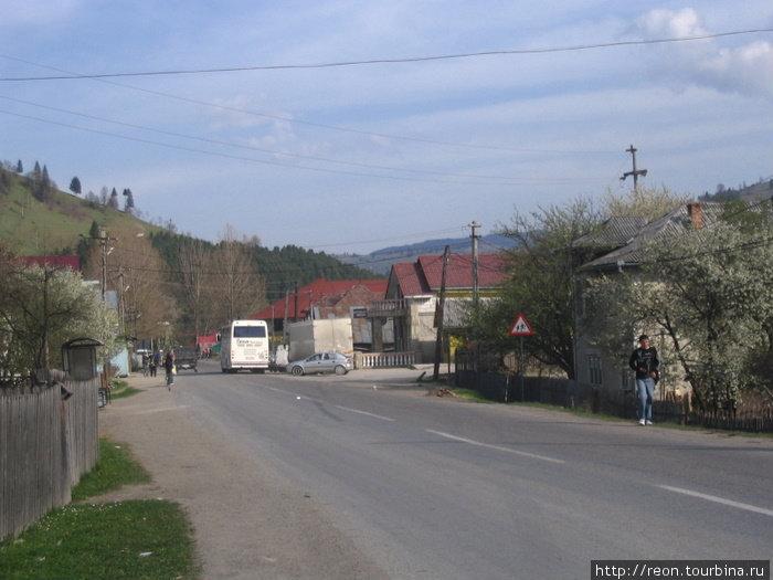 По дороге в Ватра-Дорней. Румынская глубинка