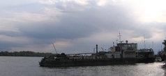 Флот на Дунае влачит жалкое существование...