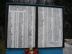 Монумент участникам войны. На фронте погибали целыми семьями. А кто вернулся — не торопились возвращаться в деревню...