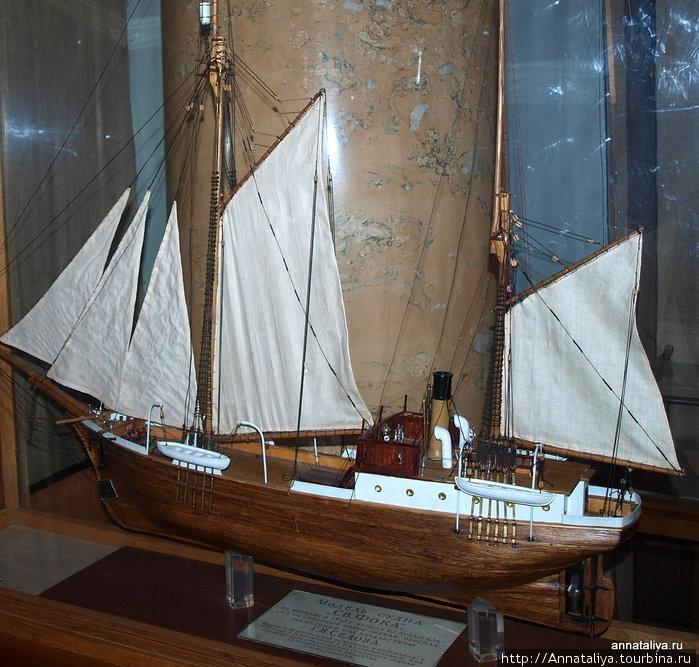 Модель судна