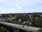 Мост крупным планом. С него хорошо смотреть на город