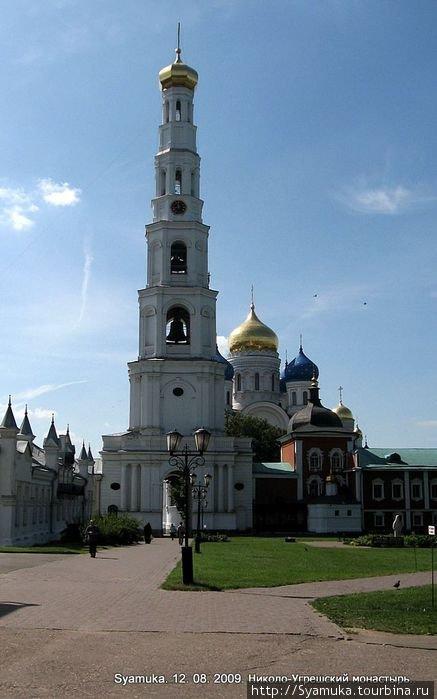 В конце 19 века монастырь был одним из наиболее посещаемых.