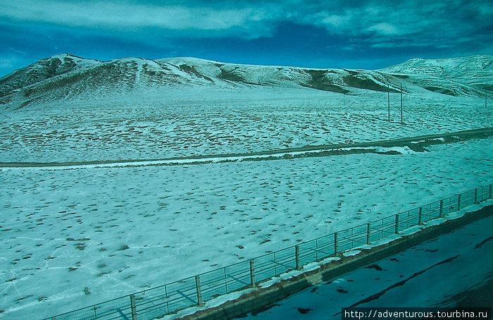Тибетское нагорье. Автор Оксана Юркова