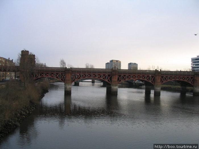 ж/д мост через Клайд