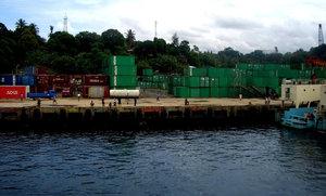Соронг — один из крупных портовых городов Папуа.