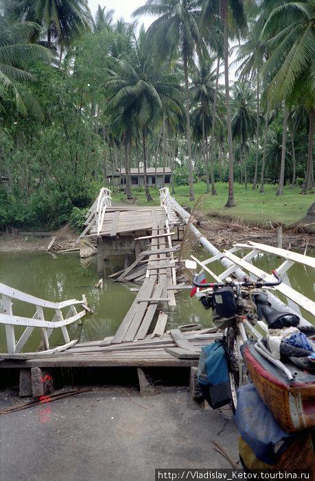 Такие мосты в Малайзии не редкость