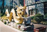 Чайна-таун в Инчхоне. Здесь краски ярче и сочнее, чем в других местах Кореи.