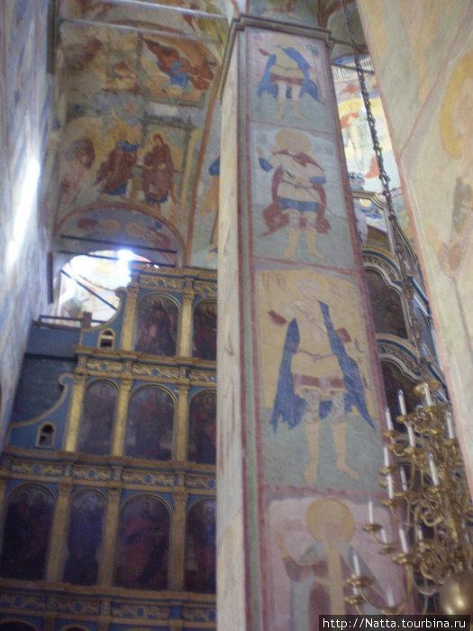 Роспись стен Софийского собора
