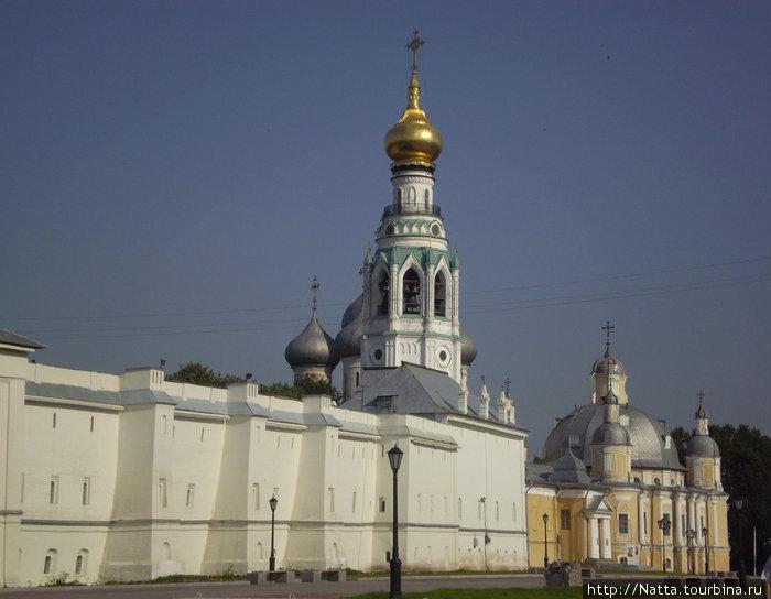 Вид на Вологодский кремль