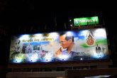 Тайский король- очень уважаемый человек, его портреты можно увидеть в разных уголках Тая