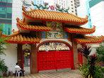 Вход в китайский храм