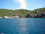 один из симиланских островов