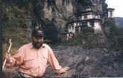 Тактсанг Лакханг (гнездо Тигрицы) до пожара 1998