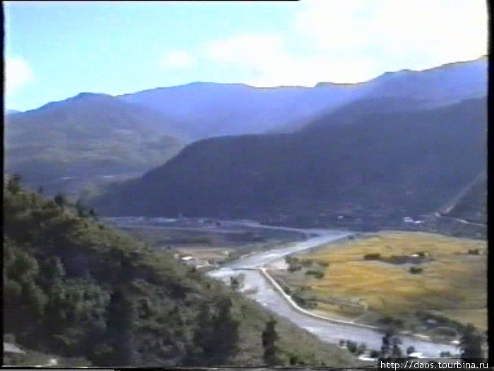 Вид с верхнего дзонга