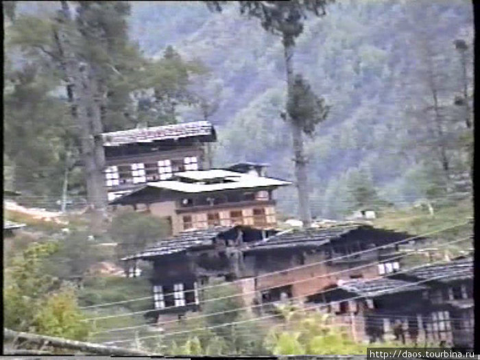 Бутанские дома