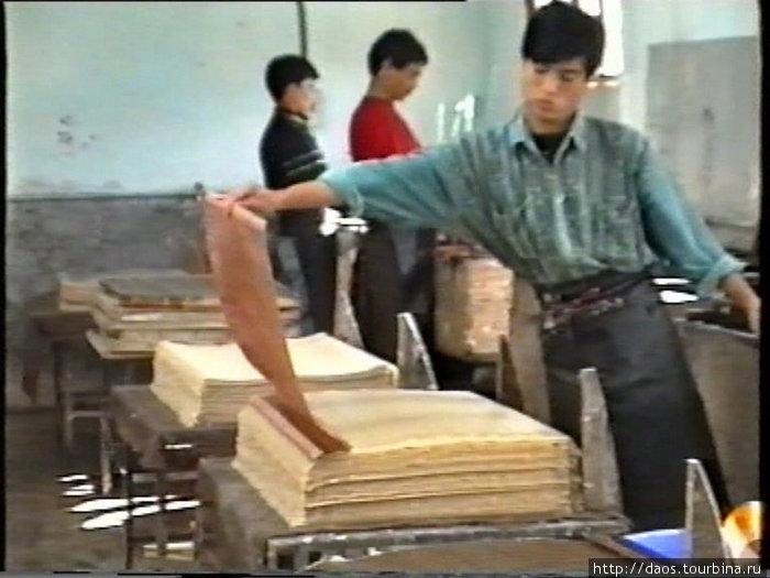 Фабрика бумаги