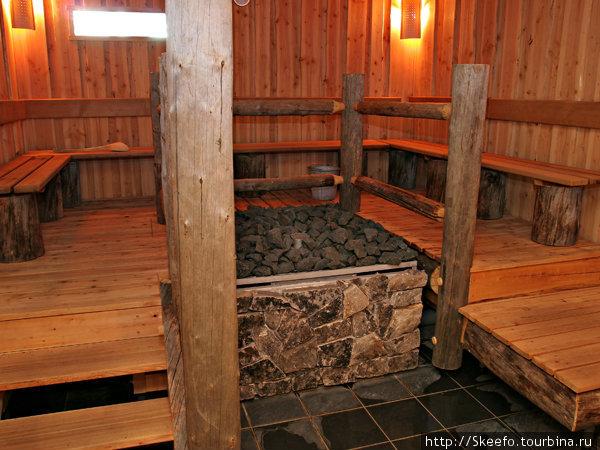 Та самая сауна, где финский дед устроил настоящий ад. Фотография с сайта Holiday Club