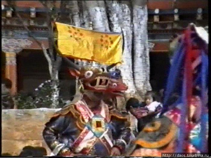 Танец по поэме Миларепы об олене и охотниках