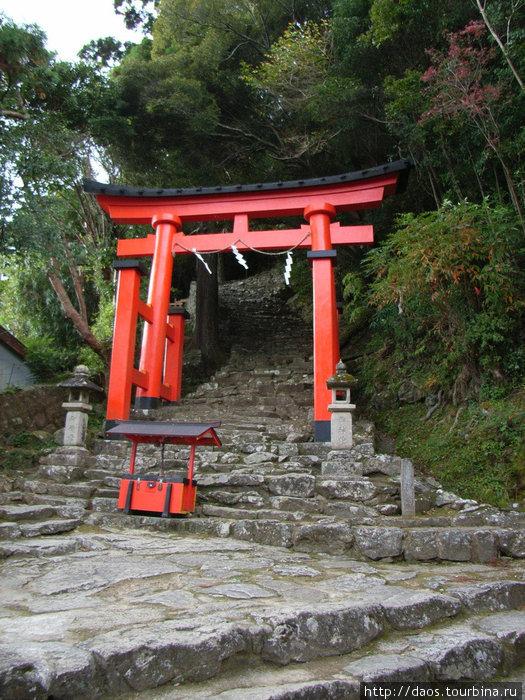 Подъём к Камикура-дзиндзя