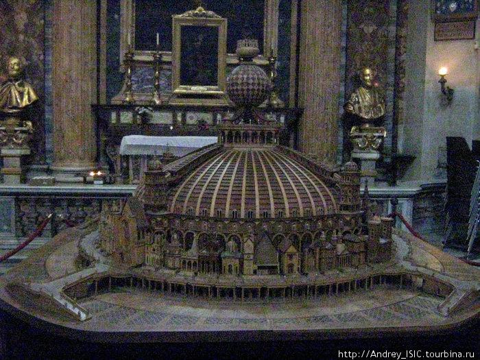 макет униатской церкви