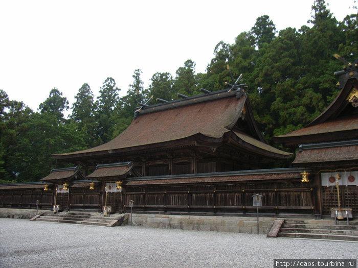 Основное святилище Хонгу