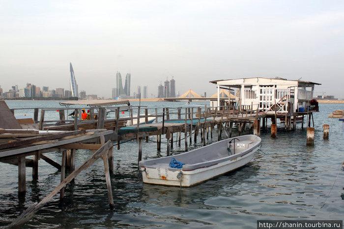 Сарайчик на берегу Персидского залива