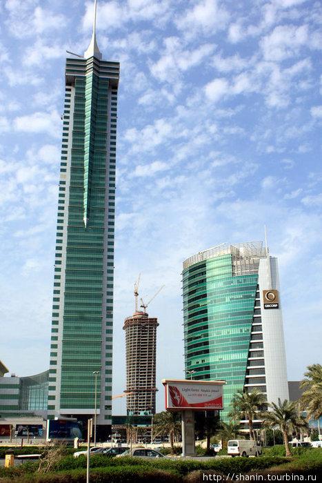 Новые небоскребы