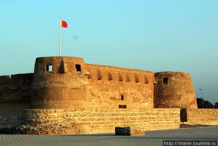 Форт Арад на закате