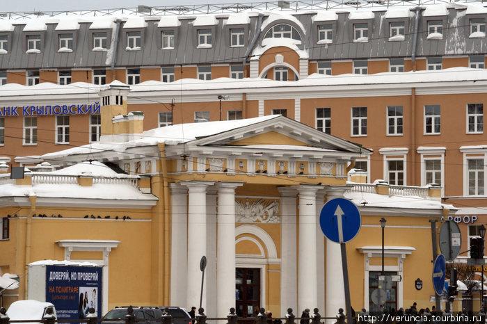 Гауптвахта. Сейчас здесь находится центр по туризму.