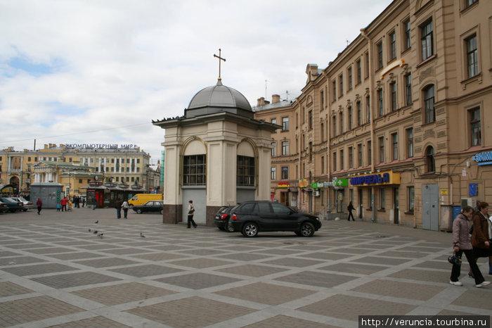 Часовня в память об Успенской церкви.