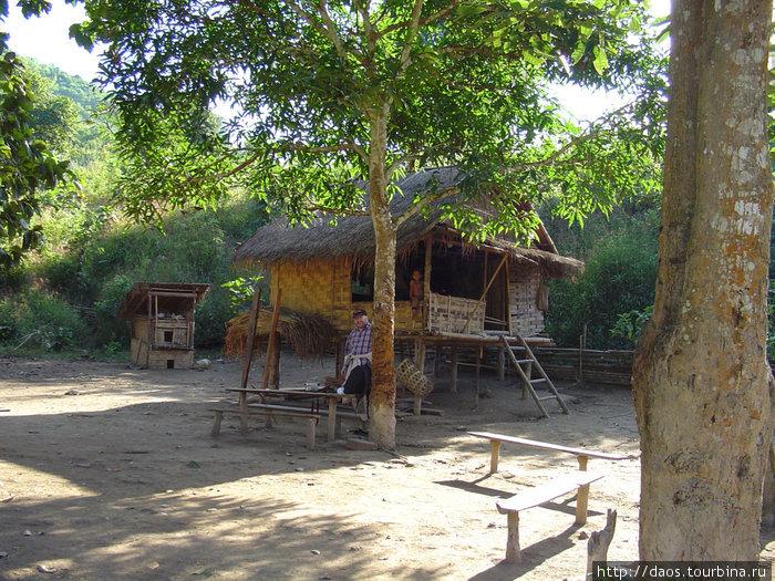Вторая деревня племени кхму