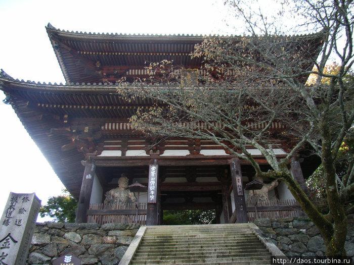 Храм Кимпусэн — центр религии сюгэндо