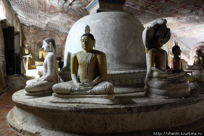Ступа и Будды