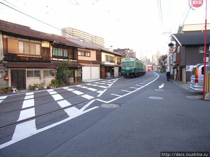 На улице города Оцу
